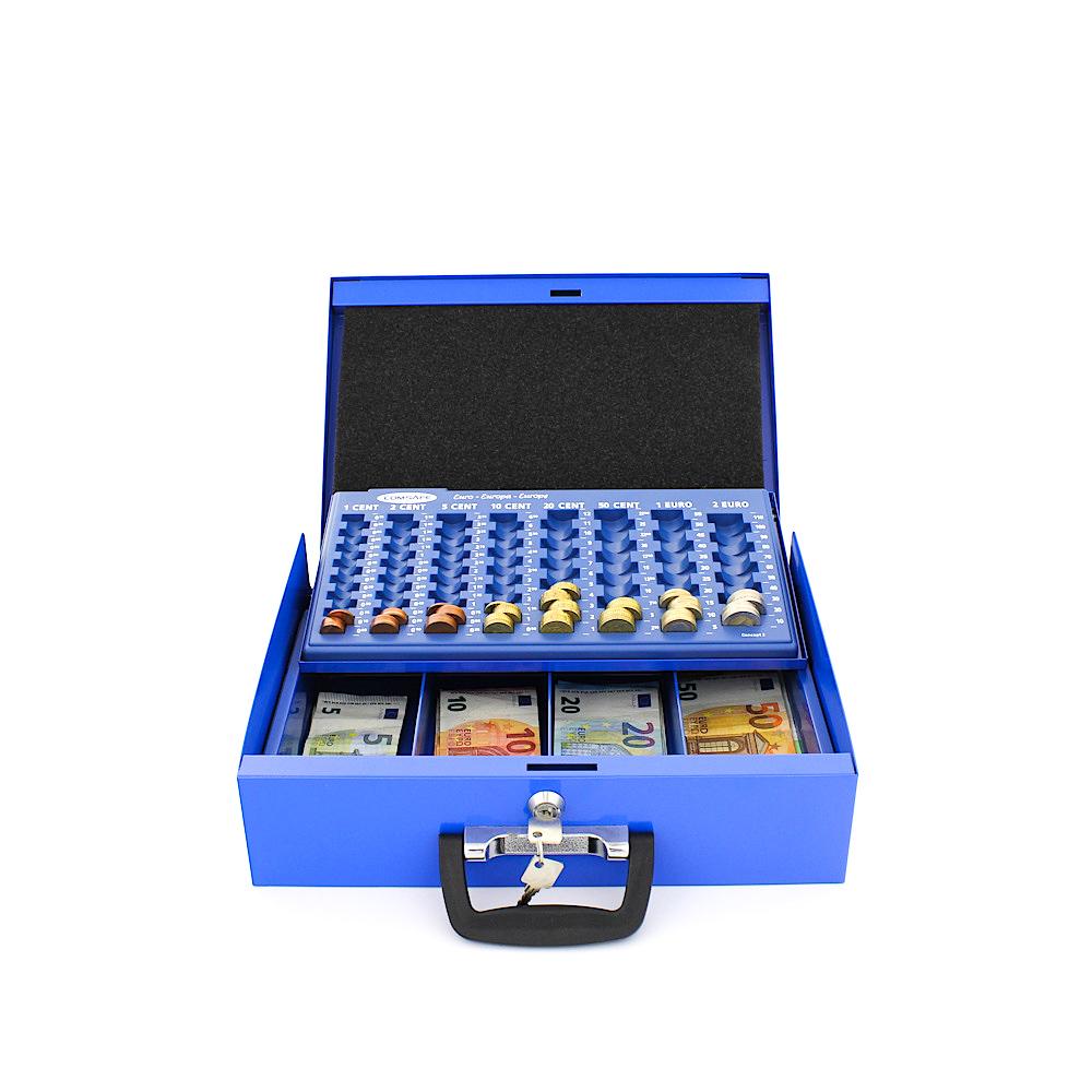 Profirst Dori Geldkassette Blau