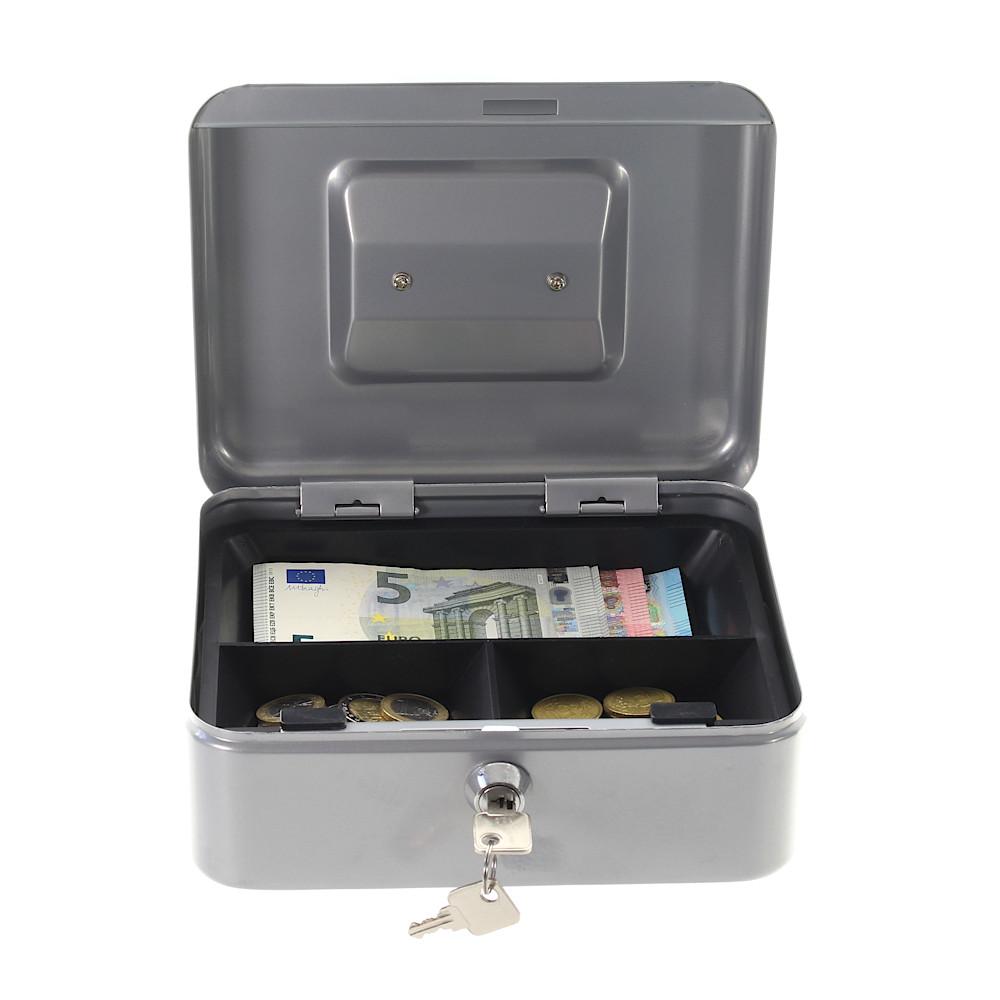 Profirst Pandora 2 Geldkassette Silber