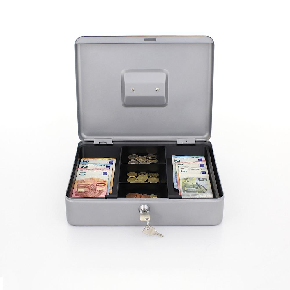 Profirst Pandora 4 Geldkassette Silber