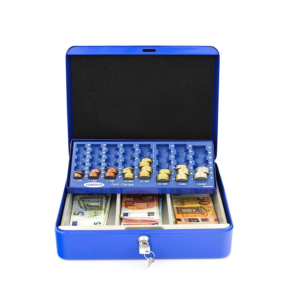 Profirst Pluto Geldkassette Blau