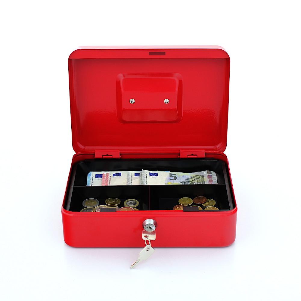Rottner Geldkassette Traun-3 rot