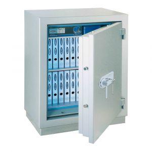 Rottner Papiersicherungsschrank EN1 MegaPaper 140 Premium Elektronikschloss weißaluminium