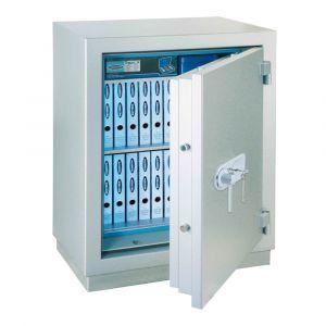 Rottner Papiersicherungsschrank EN1 MegaPaper 140 Premium Zahlenkombinationsschloss weißaluminium