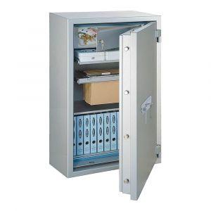 Rottner  feuersicherer Papiersicherungsschrank EN2 GigaPaper 140 Premium Zahlenkombinationsschloss weißaluminium