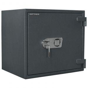 Rottner feuersicherer Wertschutzschrank EN2 Galaxy 60 IT Fire Elektronikschloss graphitgrau